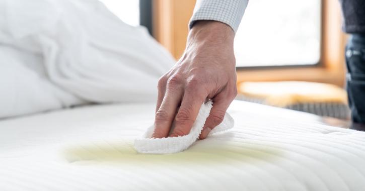ทำความสะอาดที่นอน